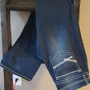 BKE Stella dark wash extra long jeans size 31